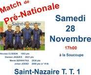6ème journée Pré-Nat dès samedi !...